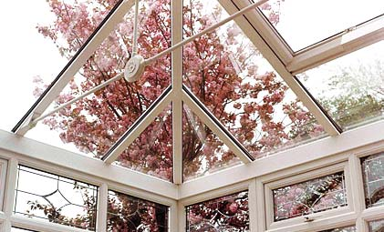 Glass roof Conservatory Banbury